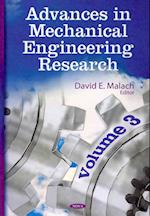 Advances in Mechanical Engineering Research (Advances in Mechanical Engineering Research, nr. 3)