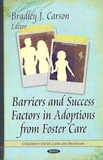 Barriers and Success Factors in Adoptions from Foster Care (Children's Issues, Laws and Programs)