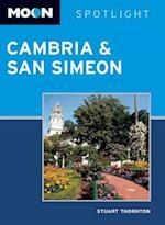 Moon Spotlight Cambria & San Simeon af Stuart Thornton