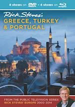 Rick Steves' Greece, Turkey & Portugal DVD & Blu-Ray 2000-2014 (Rick Steves)
