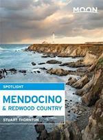 Moon Spotlight Mendocino & Redwood Country af Stuart Thornton
