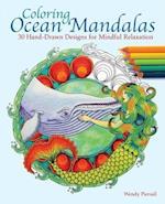 Coloring Ocean Mandalas Adult Coloring Book af Wendy Piersall