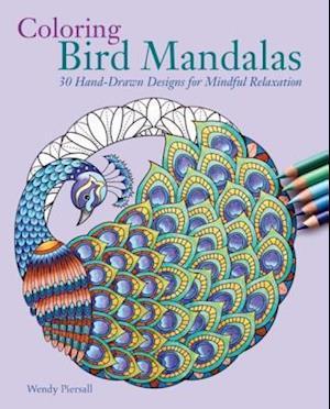 Coloring Bird Mandalas af Wendy Piersall