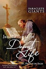 The Complete Introduction to the Devout Life (Paraclete Giants)