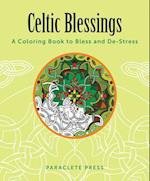 Celtic Blessings Adult Coloring Book