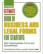 Ultimate Book of Business and Legal Forms for Startups (The Ultimate Series)