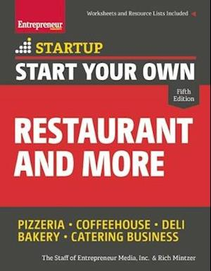 Start Your Own Restaurant and More af Rich Mintzer