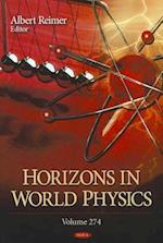 Horizons in World Physics Volume 274. af Albert Reimer