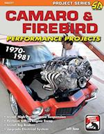 Camaro & Firebird Performance Projects: 1970-81 af Jeff Tann