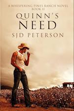 Quinn's Need af S. J. D. Peterson, SJD Peterson