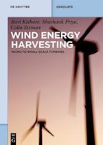 Wind Energy Harvesting (De Gruyter Textbook)