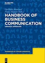 Handbook of Business Communication (Handbooks of Applied Linguistics HAL, nr. 13)