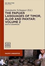 The Papuan Languages of Timor, Alor and Pantar, Volume 2 (Pacific Linguistics PL, nr. 655)