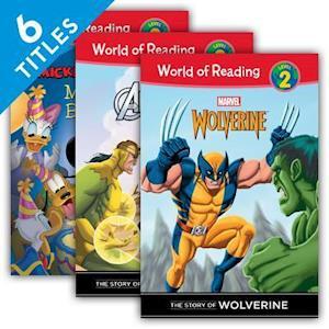 World of Reading Level 2 (Set)