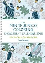 The Mindfulness 2018 Coloring Calendar (Mindfulness Coloring)