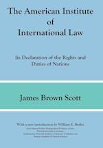 The American Institute of International Law