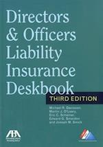 Directors & Officers Liability Insurance Deskbook