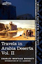 Travels in Arabia Deserta, Vol. II (in Two Volumes) af Charles Montagu Doughty, T E Lawrence