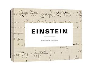 Bog, hardback Einstein Notecards af Princeton Architectural Press