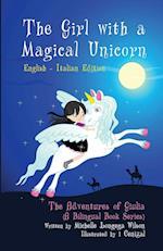 The Girl with a Magical Unicorn / La Bimba Con Un Magico Unicorno (a Bilingual Book in English and Italian) af Michelle Longega Wilson