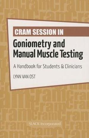 Bog paperback Cram Session in Goniometry and Manual Muscle Testing af Lynn Van Ost