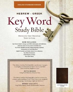 Key Word Study Bible-English Standard Verson Goatskin Leather Edition