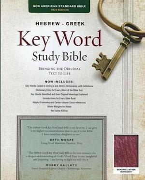 Bog, hardback The Hebrew-Greek Key Word Study Bible