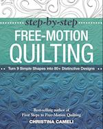Step-by-Step Free-Motion Quilting af Christina Cameli