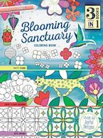 Blooming Sanctuary Coloring Book