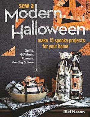 Bog, paperback Sew a Modern Halloween af Riel Nason