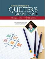 Harriet Hargrave's Quilter's Graph Paper - Print-On-Demand Edition: 100 Pages • 8 1/2
