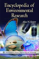 Encyclopedia of Environmental Research (Environmental Science, Engineering and Technology)