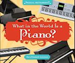 What in the World Is a Piano? (Musical Instruments)