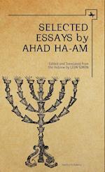 Selected Essays by Ahad Ha-Am