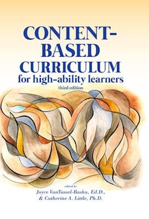 Bog, hardback Content-Based Curriculum for High-Ability Learners