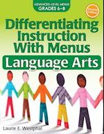 Differentiating Instruction With Menus Language Arts (Differentiating Instruction With Menus)