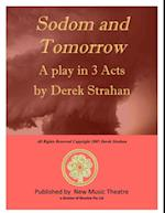 SODOM AND TOMORROW af Derek Strahan