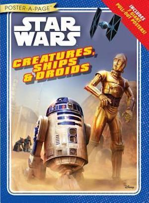 Bog, paperback Creatures, Ships & Droids af Disney