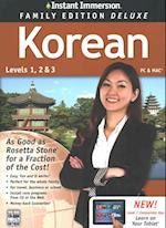 Instant Immersion Korean, Level 1, 2 & 3 (Instant Immersion)