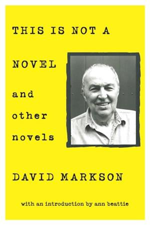 This is Not a Novel and Other Novels af David Markson