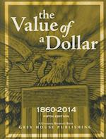 The Value of a Dollar 1860-2014