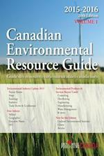 Canadian Environmental Resource Guide, 2015