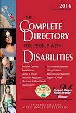 The Complete Directory for People With Disabilities 2016 af Laura Mars