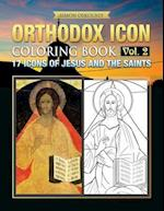 Orthodox Icon Coloring Book Vol.2