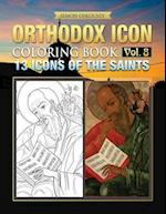 Orthodox Icon Coloring Book Vol. 8