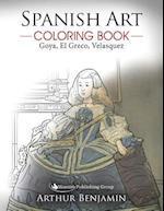 Spanish Art Coloring Book