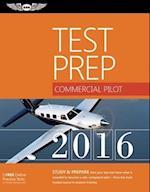 Commercial Pilot Test Prep 2016 Book and Tutorial Software Bundle (Test Prep)