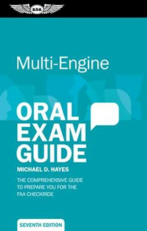 Bog, paperback Multi-Engine Oral Exam Guide af Michael D. Hayes