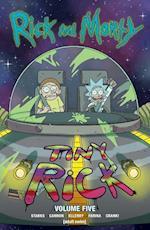 Rick and Morty 5 af Kyle Starks