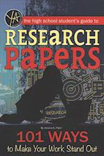 The High School Student's Guide to Research Papers (Young adult)